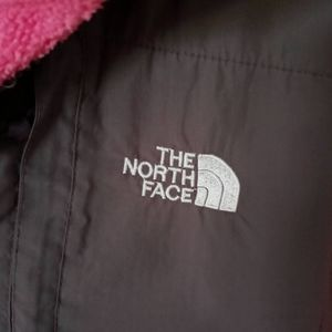 North face pink sweater